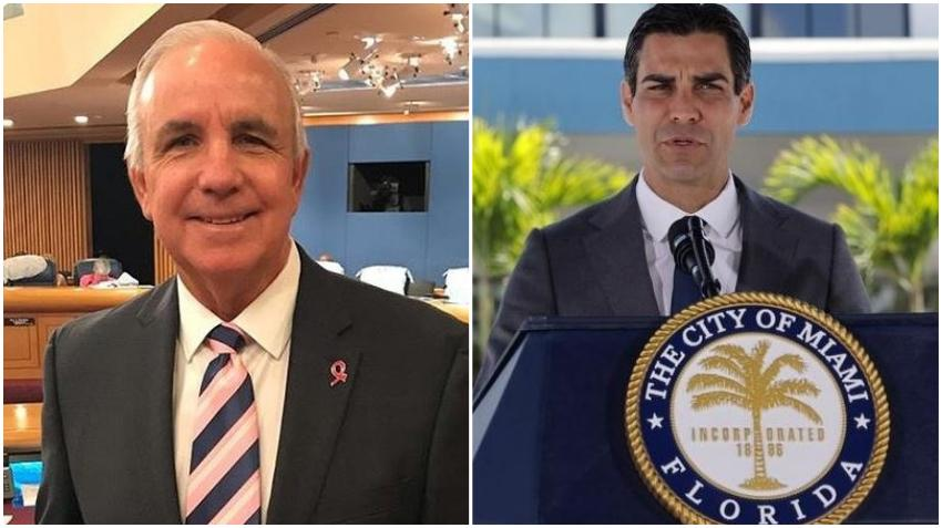 Alcalde de la ciudad de Miami, Francis Suárez, se queja de la orden de Giménez sobre los restaurantes