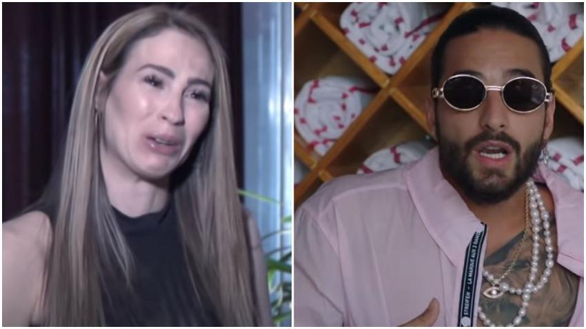 "Modelo cubana acusa a Maluma de ""obligarla"" a hacer un trío"