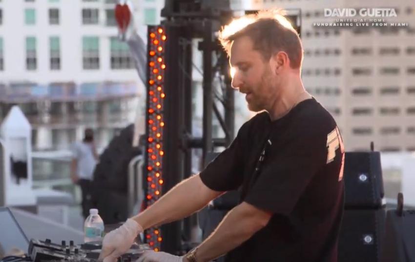 David Guetta recauda cientos de miles de dólares para ayudar a comprar comida para los afectados por la crisis con su concierto en Miami