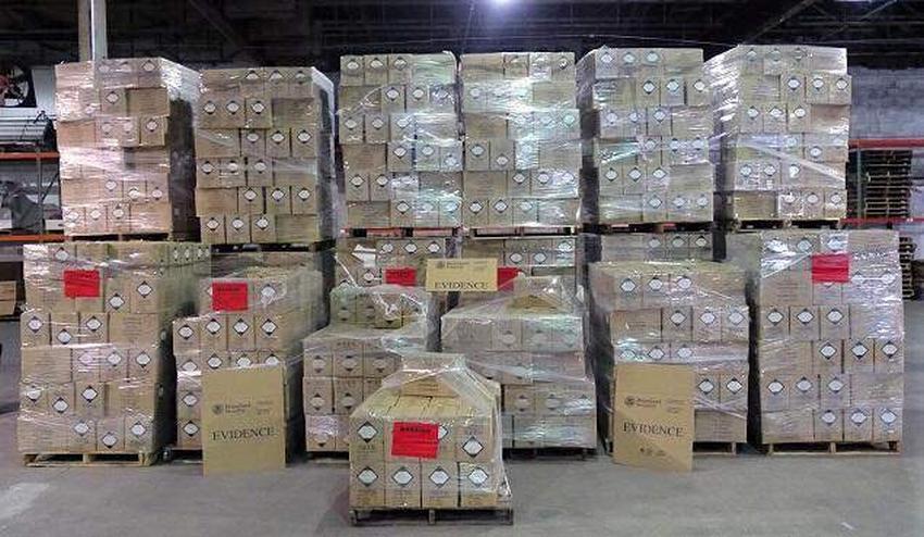 Decomisan cargamento de 60.000 perfumes falsos en el puerto de Miami