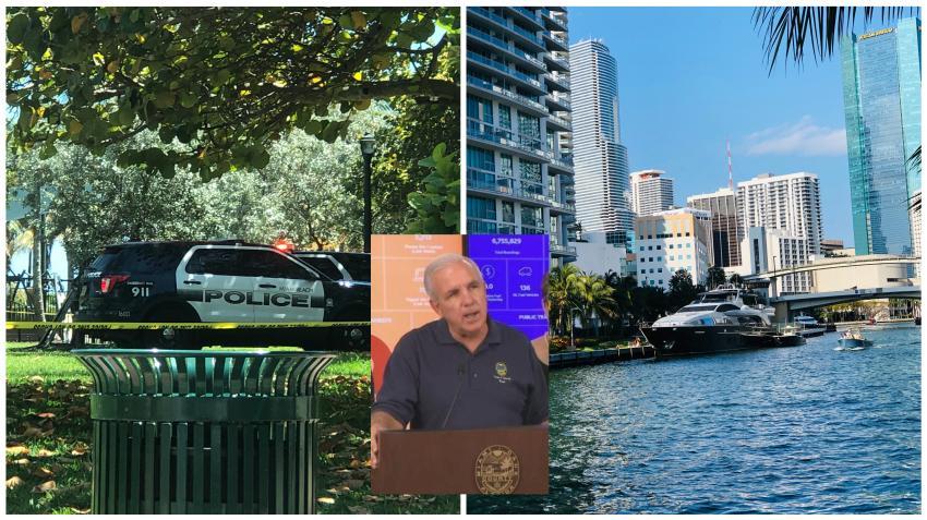 Parques públicos, campos de golf y marinas serán los primeros en abrir en Miami-Dade; las playas tendrán que esperar por lo menos un mes