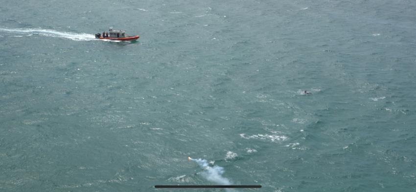 Un pequeño avión se estrella en el mar cerca de Key West; dos personas son rescatadas