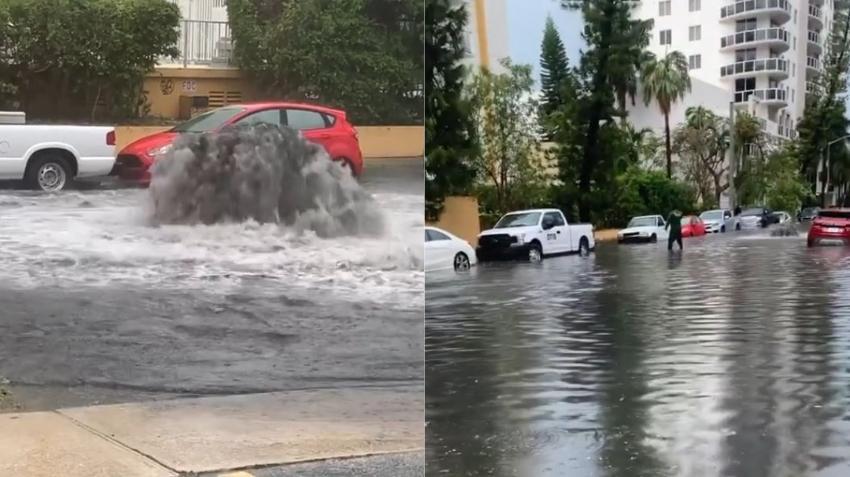 Emiten alerta de inundaciones en Miami y el sur de la Florida