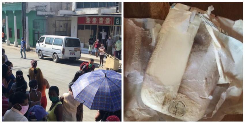 Vecinos de Songo La Maya en Santiago de Cuba se quejan de que una tienda en divisa les vendiera jabones en mal estado