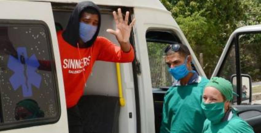De alta médica los primeros cuatro pacientes recuperados de coronavirus en Camagüey y Ciego de Ávila