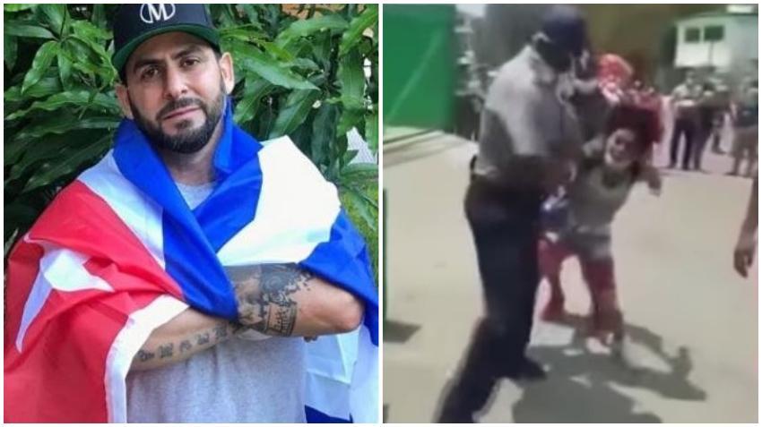 Rapero cubano Marichal canta contra la aplicación del decreto 370 en Cuba