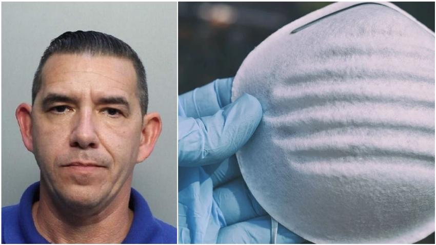Empleado de la ciudad del Doral es arrestado acusado de robar máscaras N95 destinadas a socorristas