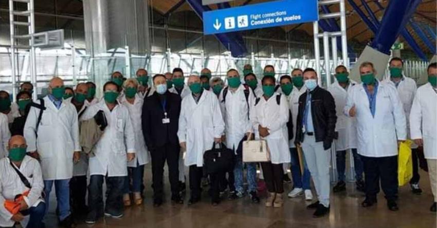 Diversos sectores de la sociedad argentina rechazan el posible arribo de una brigada de 200 médicos cubanos