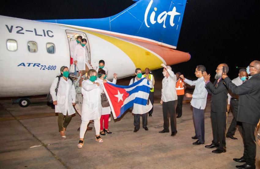 Cuba envió una delegación médica de 101 miembros a Barbados donde solo hay 56 casos de coronavirus confirmados