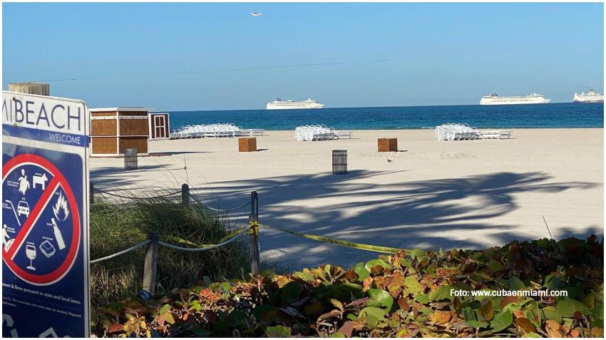 Las playas en Miami Dade podrían abrir el 1 de junio