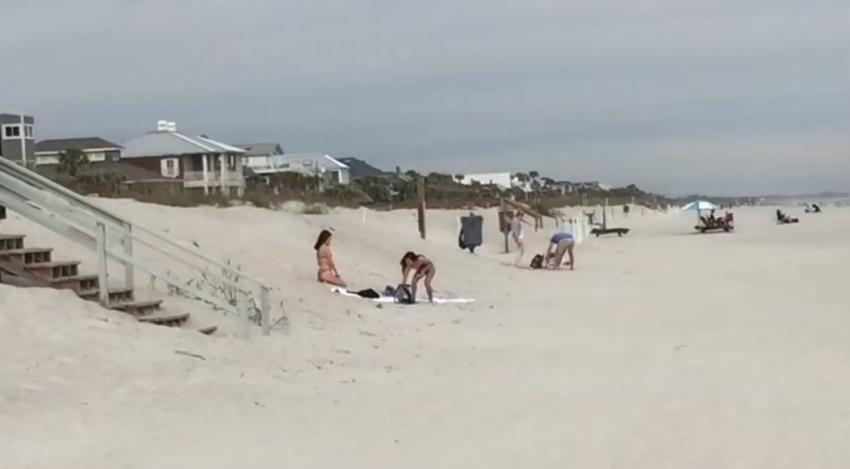 Playas en Jacksonville reabrirán este viernes tras el cierre por el coronavirus