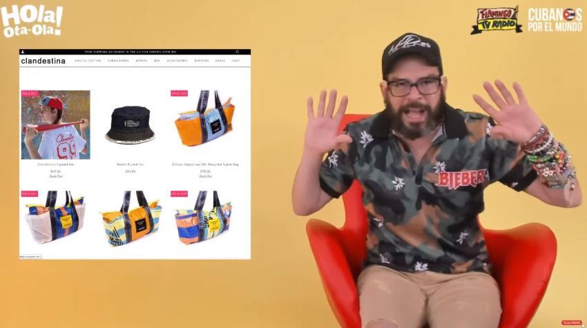 """Alexander Otaola reacciona al video de los empleados de la marca cubana Clandestina: """"Les pido a todos que no les compren absolutamente nada"""""""