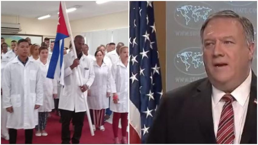 EEUU pide a gobiernos extranjeros pagarle directamente a los médicos cubanos y no al régimen de la isla