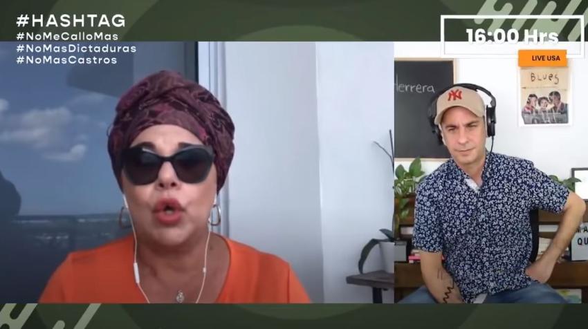 Actriz cubana Susana Pérez responde a las críticas desde dentro y fuera de Cuba por criticar a la dictadura