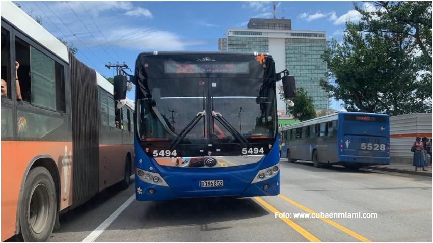 Gobierno de Cuba suspende el transporte público en todo el país a partir del sábado