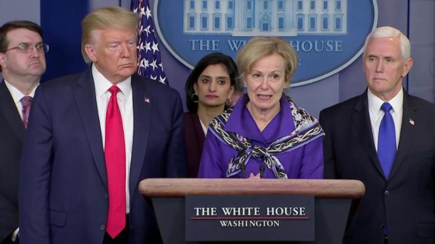 La Casa Blanca se encargará de coordinar la distribución del remdesivir para tratar el Covid-19
