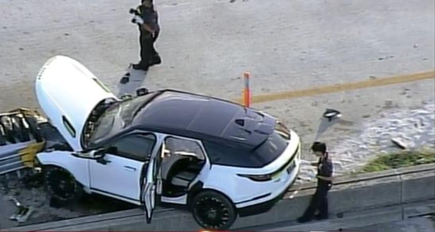 Cierran la autopista I-395 en Miami tras tiroteo que dejó un muerto dentro de un vehículo
