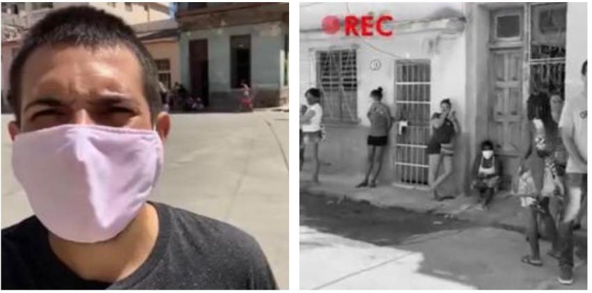 Youtuber cubano Pedrito el Paketero denuncia ETECSA no lo deja grabar en vivo, le corta la conexión en espacios públicos