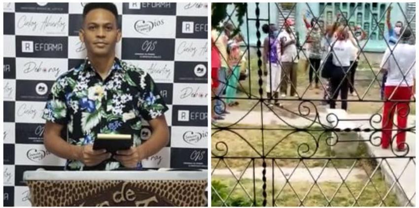 Líder religioso en Cuba, víctima de un acto de repudio en medio de la pandemia