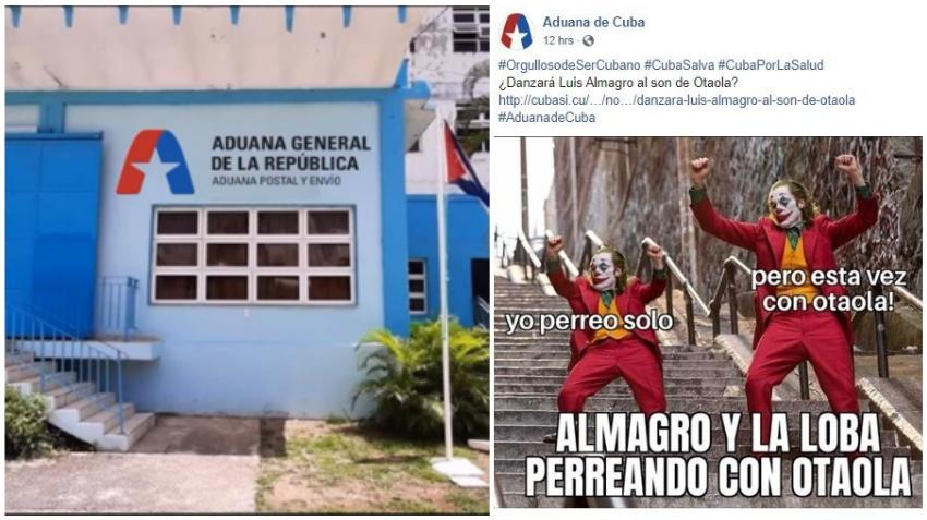 Institución oficial de la Aduana de Cuba se presta al ataque contra el programa de Otaola con invitados especiales que analizarán el tema de la isla