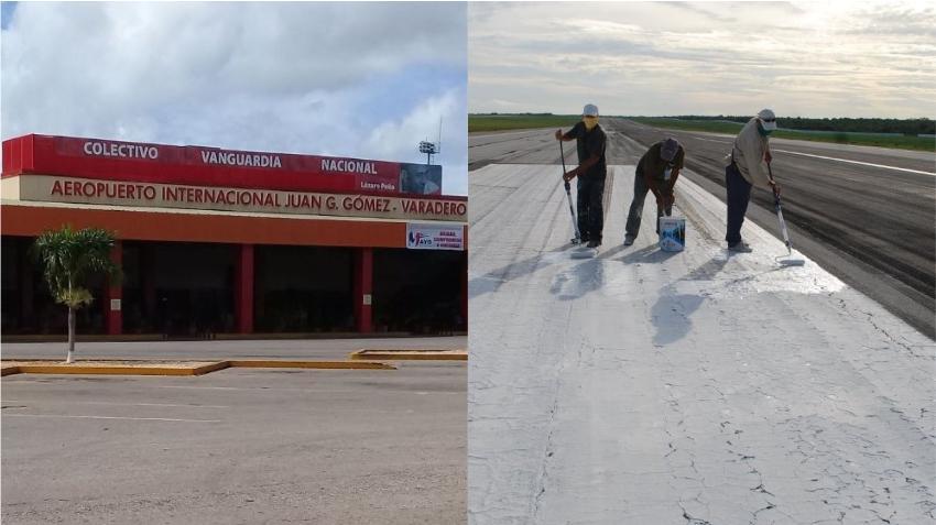 Aeropuerto Internacional de Varadero se prepara para su reapertura