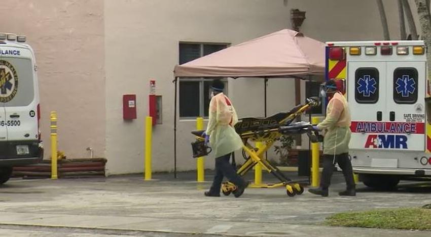 Transfieren al Hialeah Hospital a decenas de residentes de un hogar de ancianos en Miami Springs tras dar positivos al coronavirus