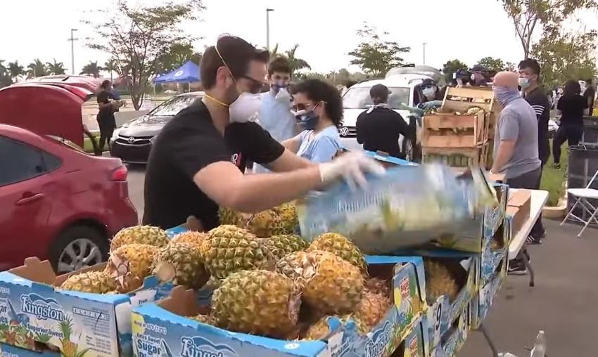 Lugares en Miami que repartirán comida gratuita a los afectados por la pandemia