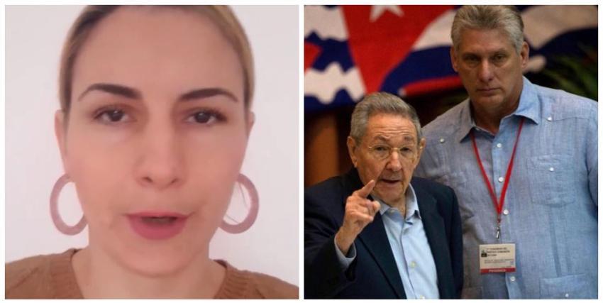 Cubana residente en España explota en las redes y le pide al pueblo salir a las calles y tumbar al Gobierno de Díaz-Canel