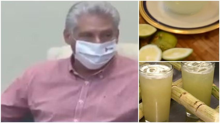 """Díaz-Canel preocupado por la falta de guarapo y limonada en Cuba: """"La limonada es la base de todo"""""""