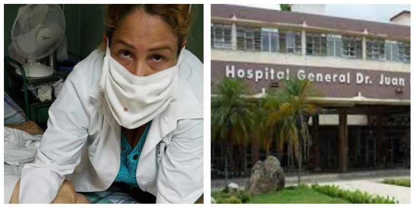 Médico cubana se queja de que dejan morir a su madre de 90 años en un hospital en Santiago de Cuba