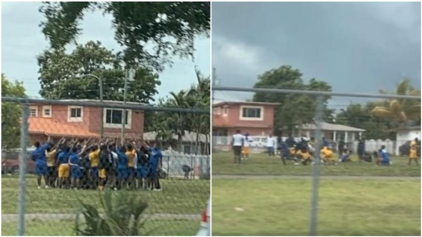 Suspenden al entrenador de fútbol de una secundaria en Miami por organizar prácticas con sus estudiantes durante la pandemia