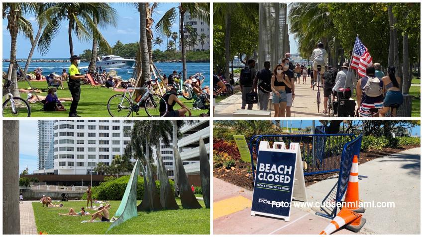 Estado de la Florida comienza a reabrir espacios cerrados por el coronavirus aunque la recuperación total aún está lejos