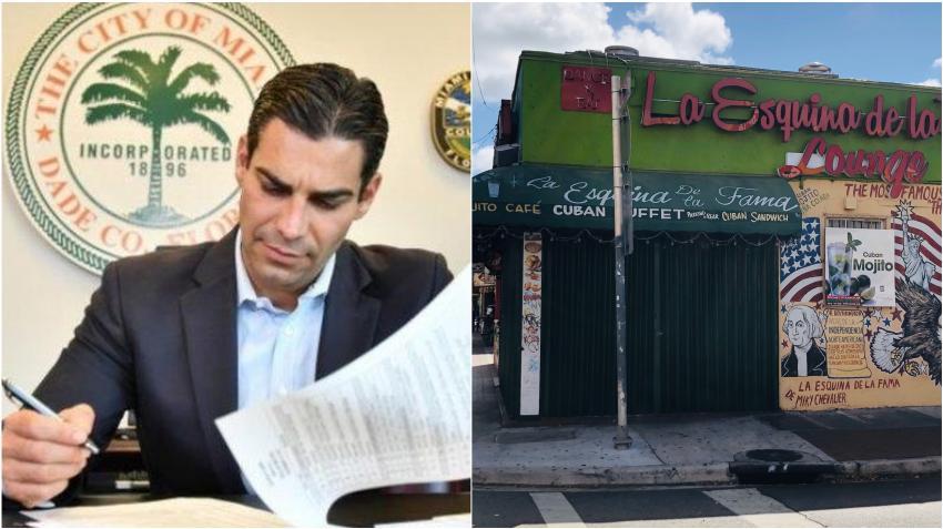Alcalde de Miami Francis Suárez se reunirá con hombres de negocios para evaluar otra orden de quedarse en casa