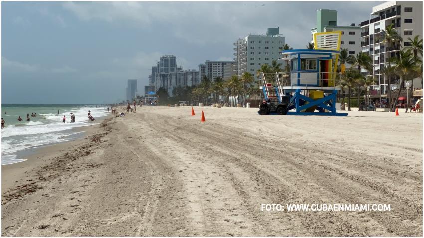 Reabren las playas de Broward con algunas restricciones