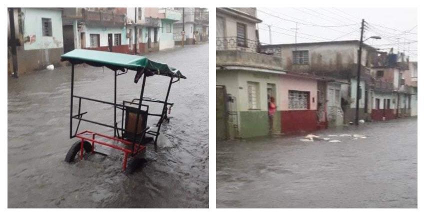 Inundaciones por una línea de tormentas severas que azotó el occidente de Cuba