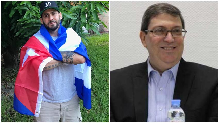 """Rapero cubano Marichal responde a los ataques de Bruno Rodríguez: """"""""Eres el canciller del excusado"""""""