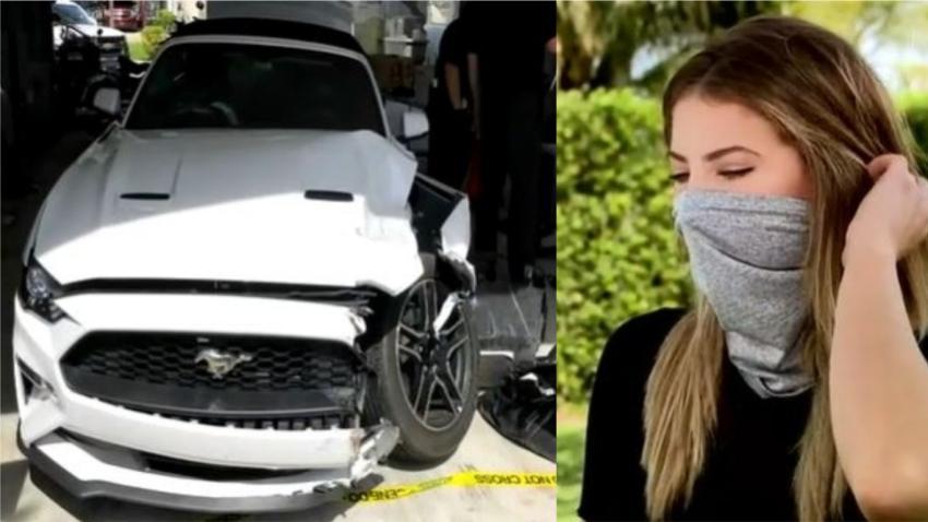 Dos hombres armados del sur de la Florida asaltan a una adolescente en un semáforo para quitarle su Mustang