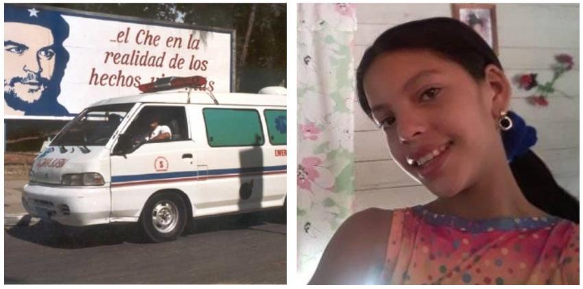 Denuncian una niña guantanamera tuvo que caminar 17 km, con un brazo fracturado del hospital a su casa, porque no habían ambulancias