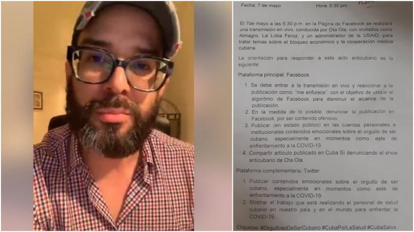 """Presentador cubano Alexander Otaola denuncia plan de la dictadura para usar """"ciberclarias"""" y boicotear programa especial por la libertad de Cuba"""