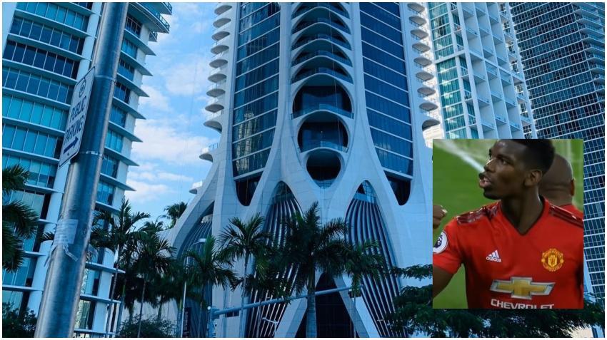 Estrella del fútbol francés Paul Pogba se compra apartamento en lujoso edificio de Miami
