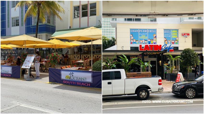 Restaurantes en la ciudades de Miami y Miami Beach abren pero con restricciones