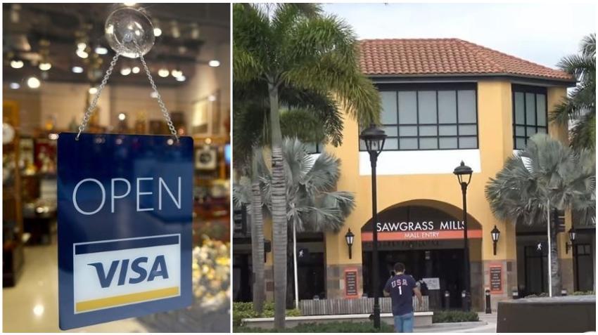 Reabre el centro comercial Sawgrass Mills en el sur de la Florida