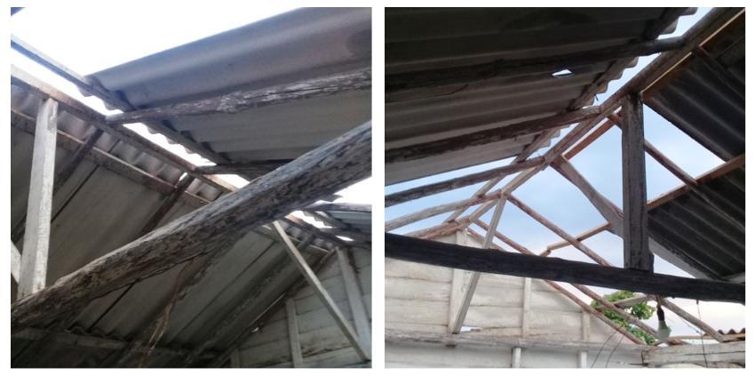 Varias viviendas perdieron parte de sus techos en Florencia, Ciego de Ávila, tras el embate de un tornado