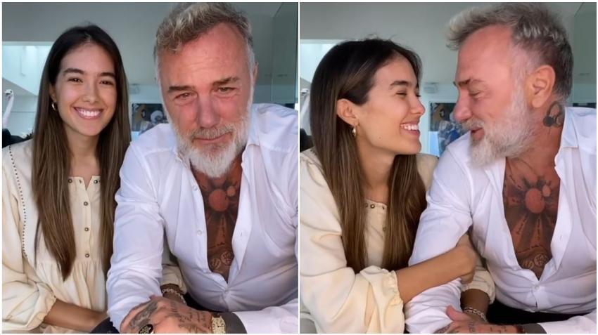 Millonario italiano Gianluca Vacchi anuncia que va a ser papá