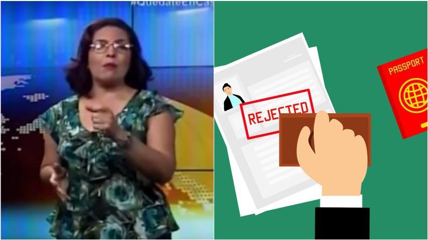 Crean petición para quitarle la visa de Estados Unidos a periodista de la televisión cubana Irma Shelton
