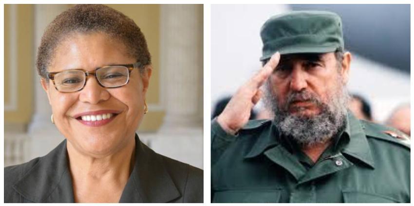 Posible candidata a vicepresidente de Joe Biden habría lamentado la muerte de Fidel Castro en el 2016