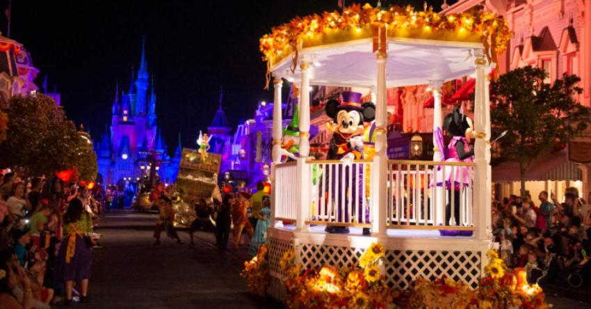 Walt Disney World cancela su fiesta anual de Halloween  por la pandemia