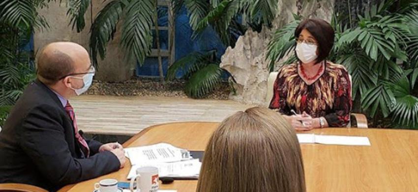 Ministra de Trabajo habla sobre las medidas impuestas al sector privado durante la desescalada en Cuba