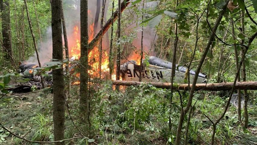 Familia de 4 de Florida muere en accidente aéreo en camino a un funeral en Indiana