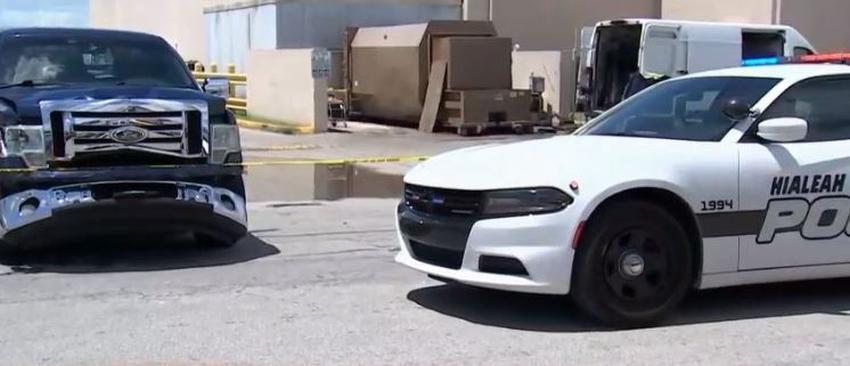 Dos mujeres son atropelladas por una camioneta en Hialeah
